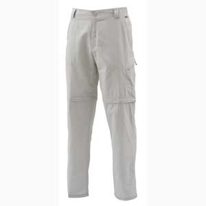 Pantalon Simms - Superlight Zip Off Pant - Taille S - Oyster