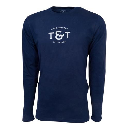T-Shirt Thomas & Thomas - Manche longue - Taille S (US)