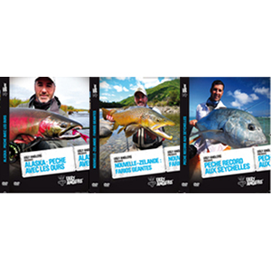 DVD Ugly Anglers - Lot de 3 DVD