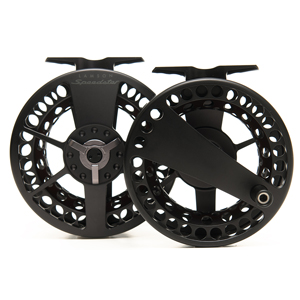 Moulinet Waterworks-Lamson Speedster HD 3.5 Black  -  Soie 8-9