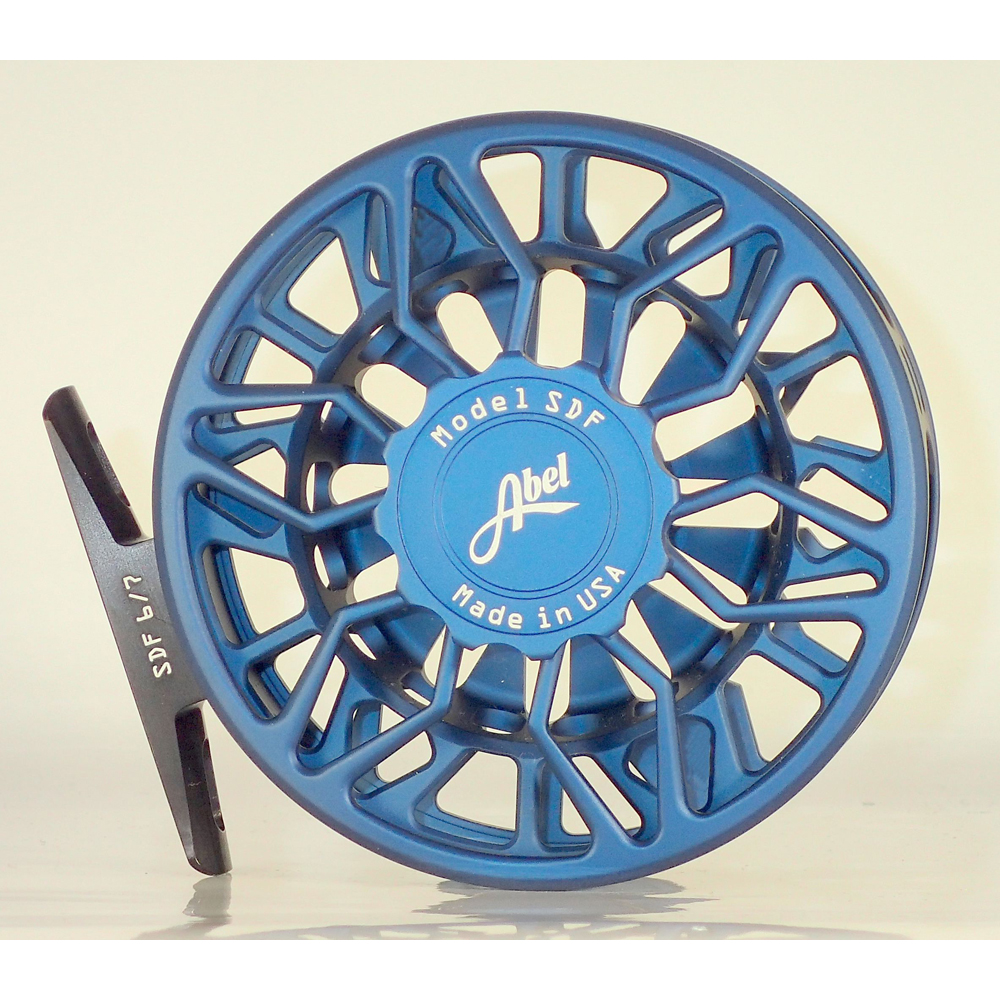 Moulinet Abel Sealed Drag Freshwater SDF 6/7 - soie 6 à 7 - Bleu profond full satiné