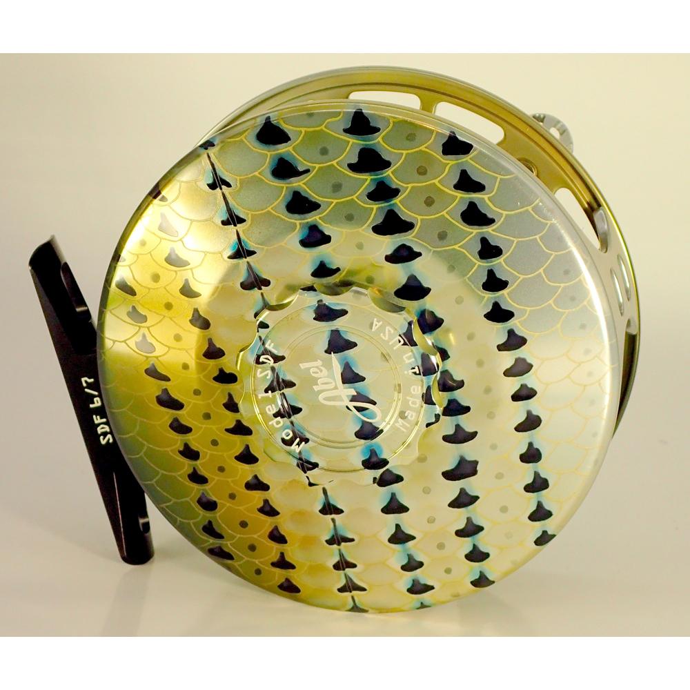 Moulinet Abel Sealed Drag Freshwater SDF 6/7 - soie 6 à 7 - Striper HD