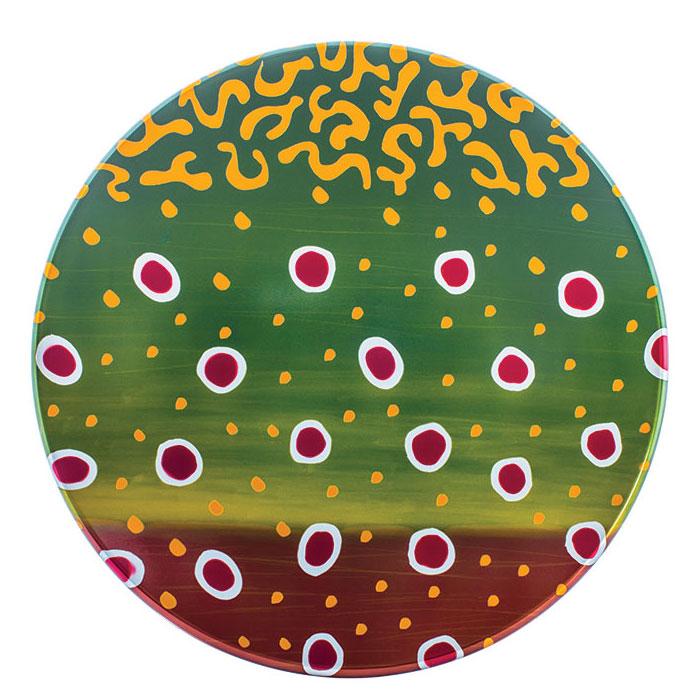 Couleur moulinet Abel - Fish Graphic Saumon de Fontaine - Classic