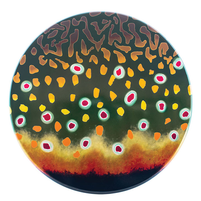 Couleur molette de frein - Fish Graphic Saumon de Fontaine - Native