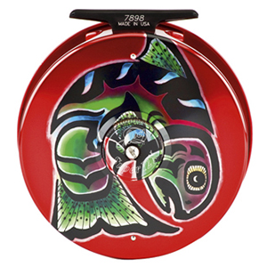 Couleur moulinet Abel -  Fish Graphic Osiris Tribal Salmon