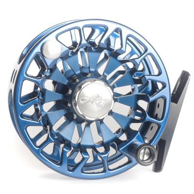 Moulinet Abel Sealed Drag Freshwater SDF 5/6 - soie 5 à 6 - Bleu Profond