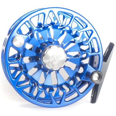 Moulinet Abel Sealed Drag Freshwater SDF 6/7 - soie 6 à 7 - Bleu Roi