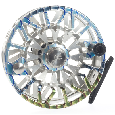 Moulinet Abel Sealed Drag Salt SDS 9/10 - soie 9 à 10 - Custom Tarpon