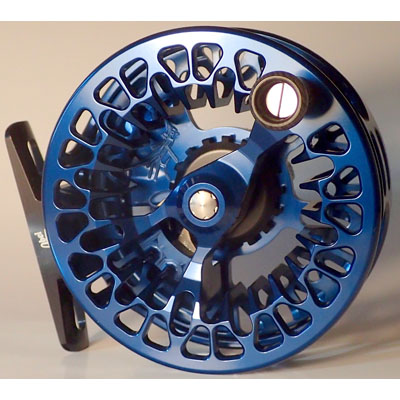 Moulinet Abel Vaya 4/5 - Bleu Profond - soie de 3 à 5