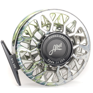 Moulinet Abel Sealed Drag Salt SDS 7/8 - soie 7 à 8 - Custom Bonefish