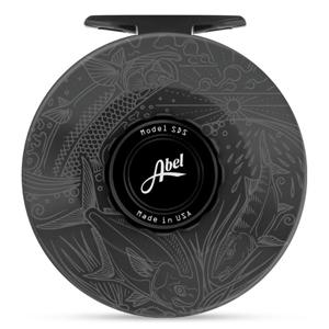 Moulinet Abel SDS 11/12 avec gravure Casey Underwood - Slammin - Ardoise