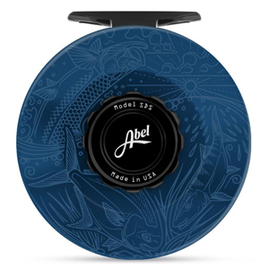 Moulinet Abel SDS 11/12 avec gravure Casey Underwood - Slammin - Bleu Profond