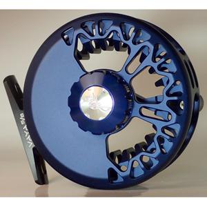Moulinet Abel Vaya 5/6 - Bleu profond satiné -soie de 4 à 6