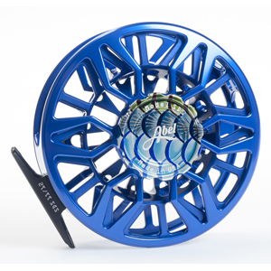 Moulinet Abel Sealed Drag Salt SDS 11/12 - soie 11 à 12 - Custom Blue / Tarpon