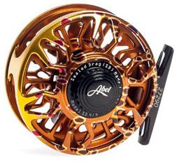 Moulinet Abel Sealed Drag SD 4/5 Fish Graphic Brown Trout - Soie 3 à 5